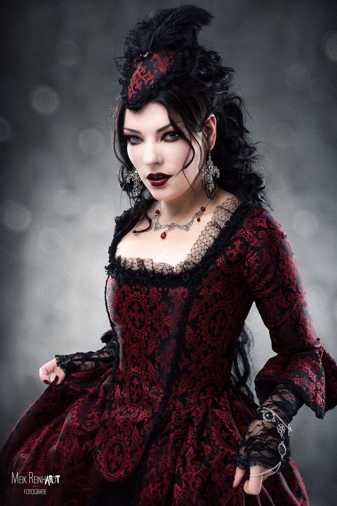 Gatto Nero Katzenkunst Victorian Goth Look World Gothic Models