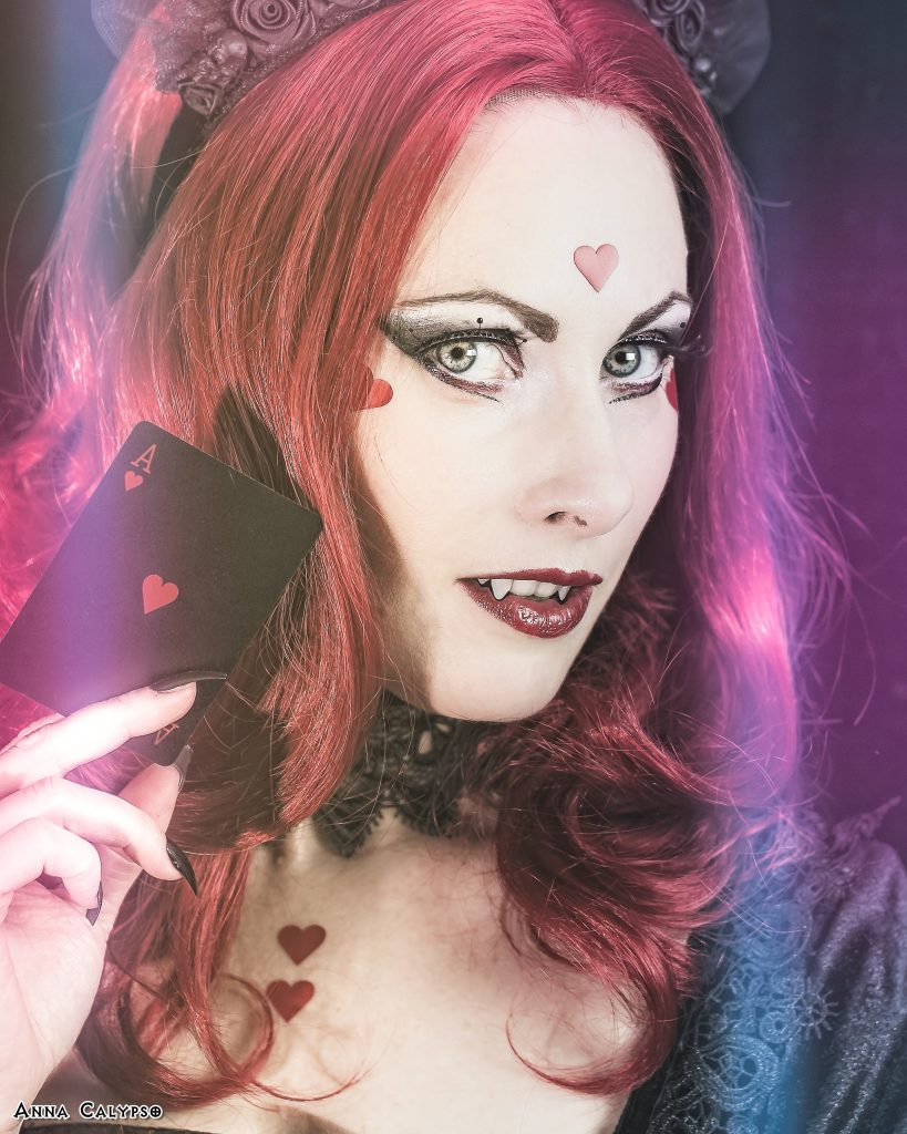 anna calypso ginger vamp goth look world gothic models