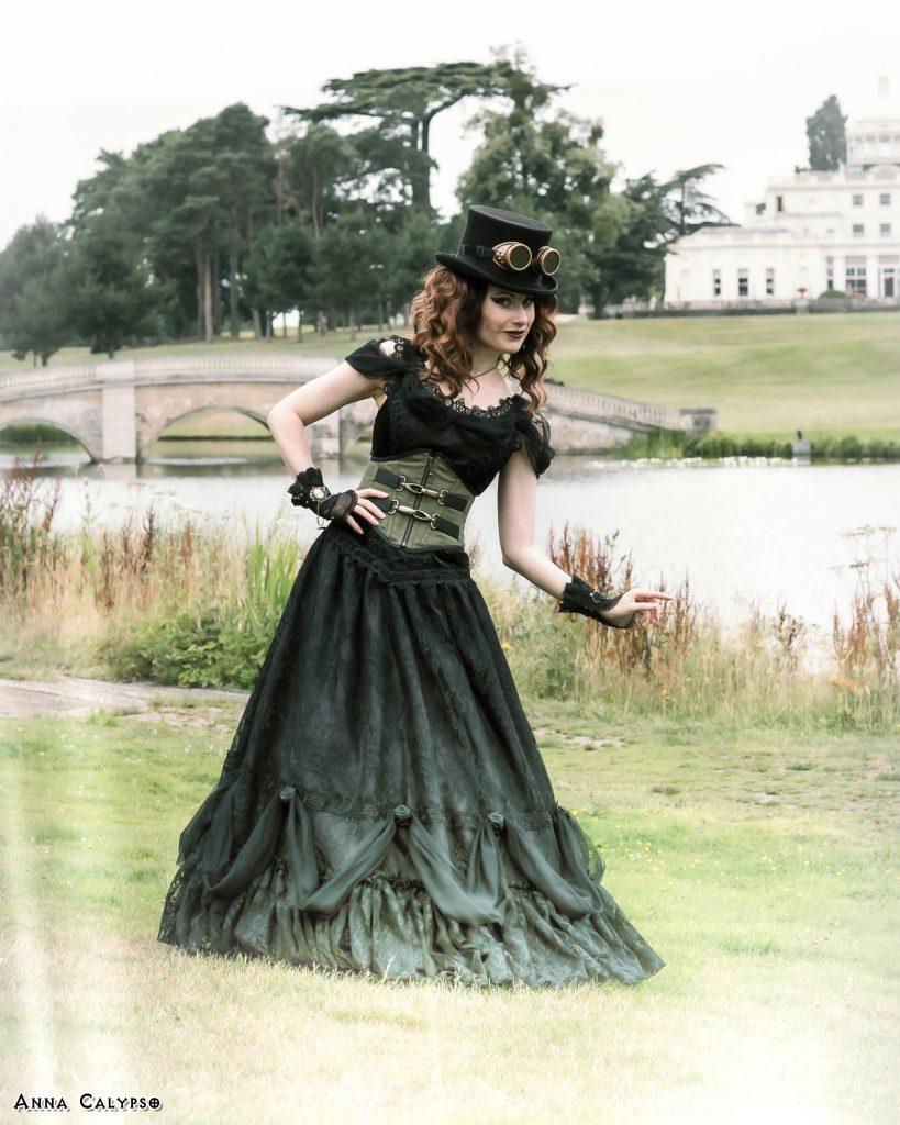 anna calypso steam punk goth look world gothic models