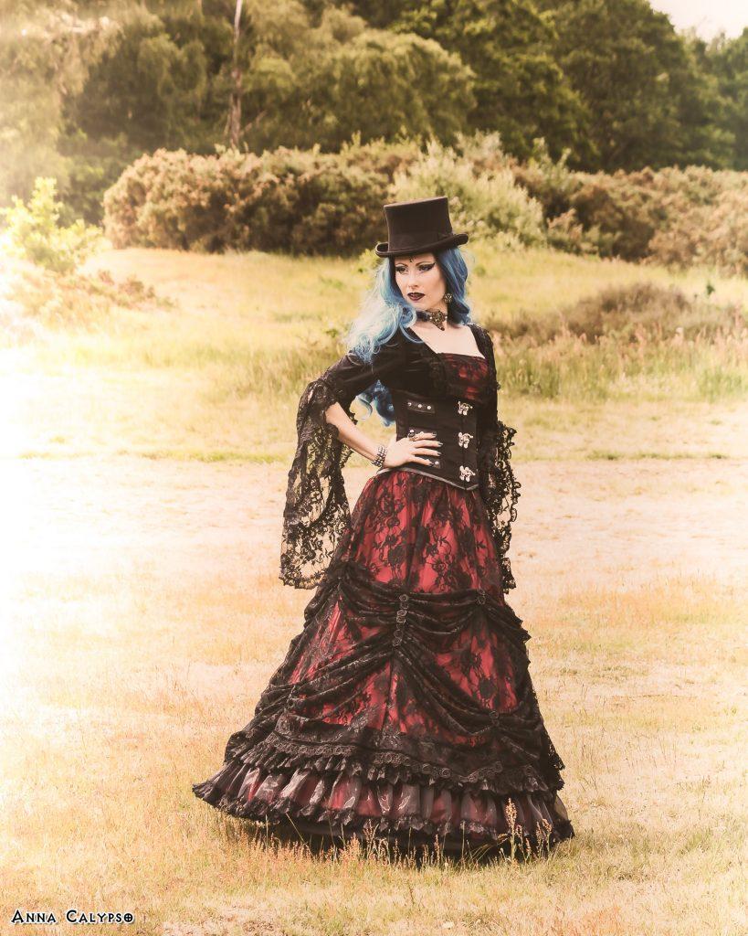 anna calypso victorian goth look world gothic models
