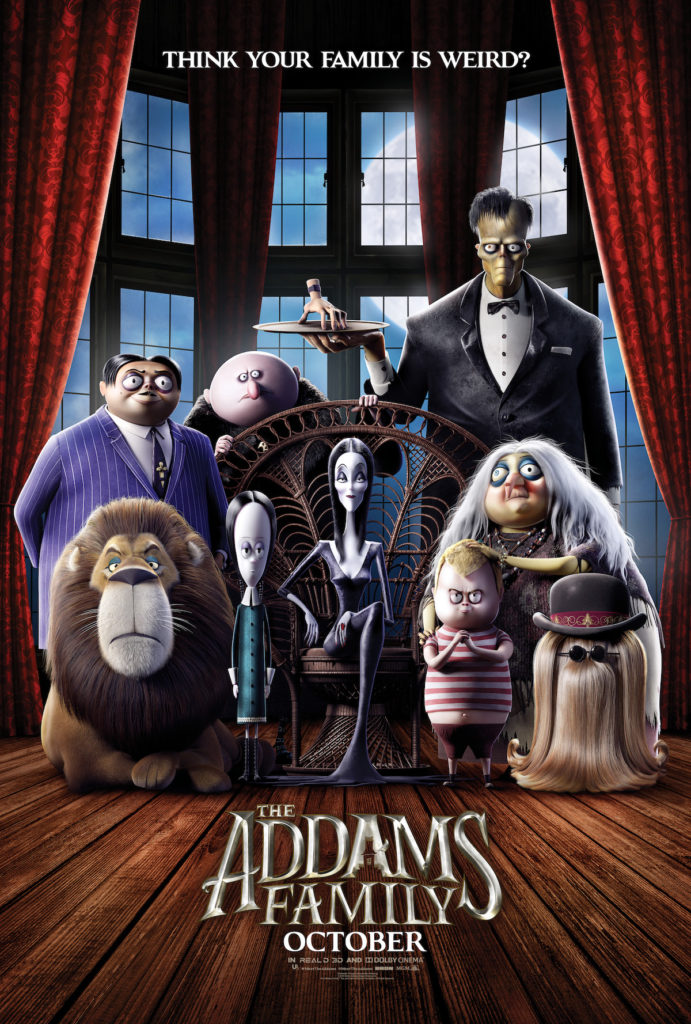 addams family 2019 poster world gothic models