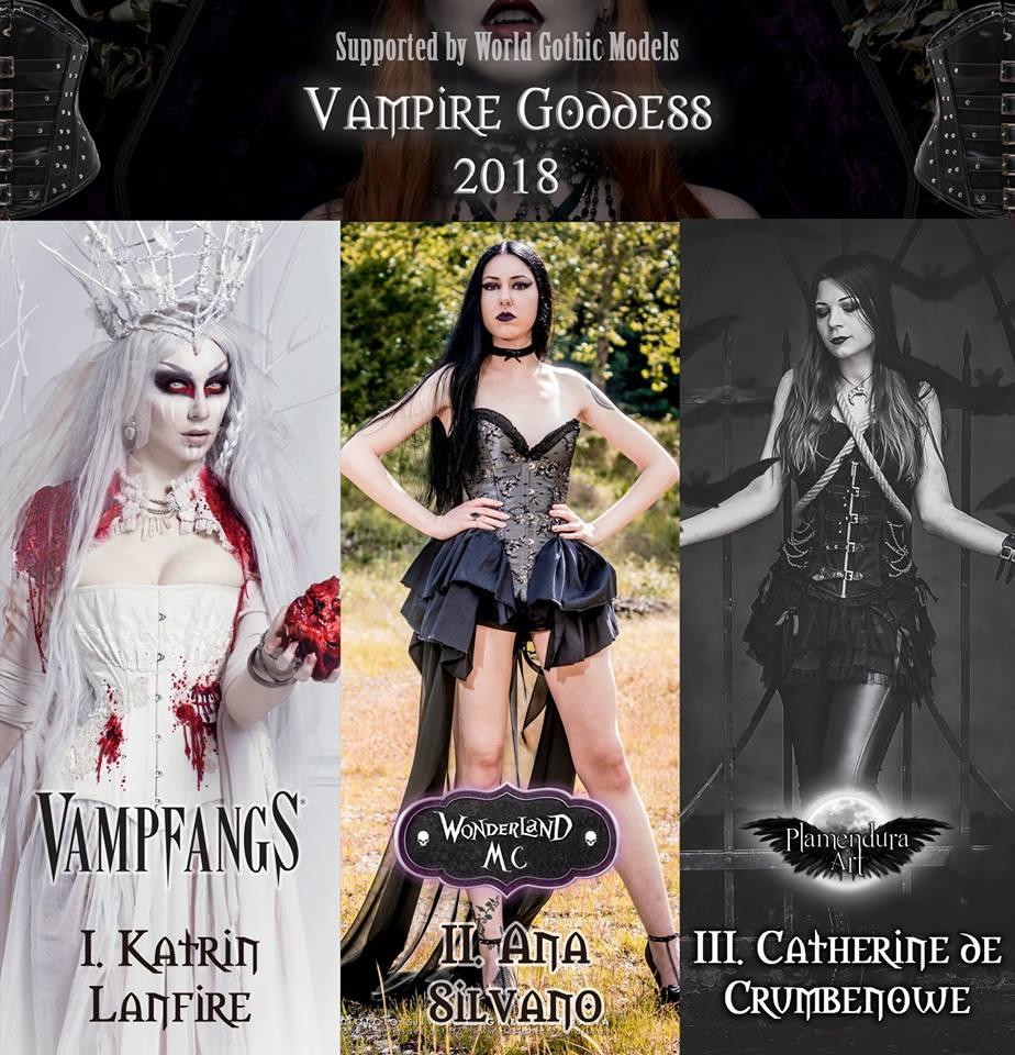 Vampire Goddess 2018 winners World Gothic Models